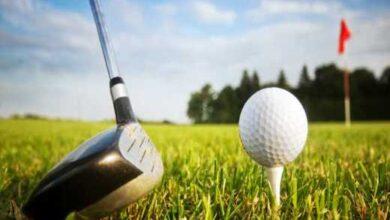 Golfing in Kenya