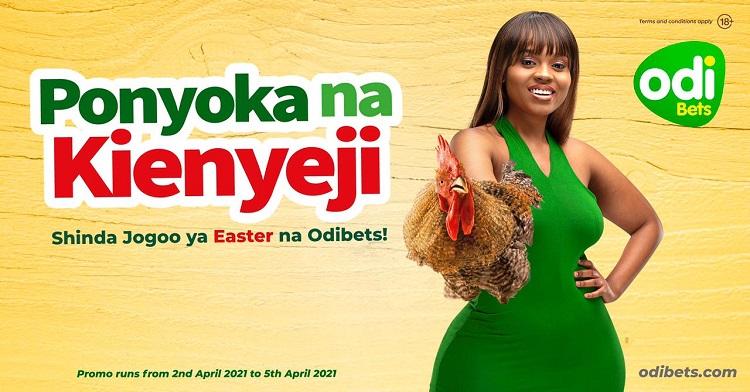 Odibets Easter Promo