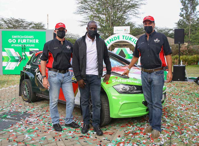 Safaricom joins forces with Minti Motorsports to Power Carl 'Flash' Tundo's Quest For Safari Rally Glory