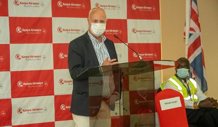 Kenya Airways Resumes International Passenger Flights