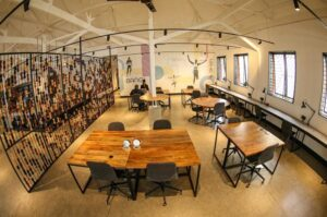 Kikao64 co-working space in Eldoret Town