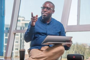 Leon Kiptum, Country Manager for fintech startup Chipper Cash