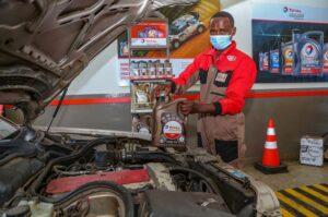 Total Kenya new Lubricants