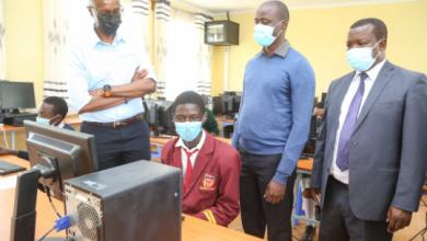 Safaricom Partners with 2019 Global Teacher Prize Winner to provide computers and Internet to Nakuru School