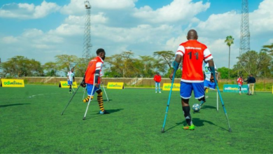 Odibets comes to the rescue of the Kenya Amputee football team